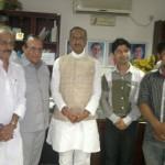 दिल्ली प्रदेश कांग्रेस कमेटी कि जन सिकायत प्रकोष्ठ टीम