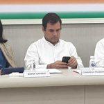 राहुल गांधी ने कांग्रेस अध्यक्ष पद से इस्तीफे की पेशकश की, CWC सदस्यों ने नहीं किया स्वीकार