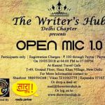 The Writer Hub – Open Mic