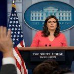 लोगों के अमेरिकी प्रशासन छोड़ने पर कुछ भी असामान्य नहीं: साराह सैंडर्स