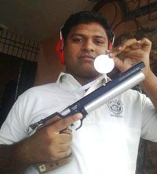 शूटिंग के फलक पर उभरता सितारा आमिर