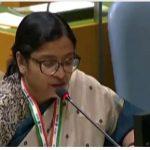 UN में पाकिस्तान को भारत का जवाब, कहा- इमरान खान का भाषण भड़काऊ और नफरत से भरा