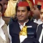 BJP को फिर झटका, यूपी कैबिनेट मंत्री स्वामी प्रसाद मौर्य के दामाद सपा में शामिल
