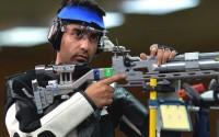 बिंद्रा ने साधा स्वर्ण पर निशाना नारंग रहे चौथे स्थान पर