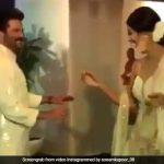 बेटी की शादी में अनिल कपूर ने लगाए शिल्पा शेट्टी के साथ ठुमके, भांगड़ा कर चौंकाया