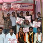 स्थाई करने की मांगः भूख-हड़ताल पर NDMC कर्मचारी