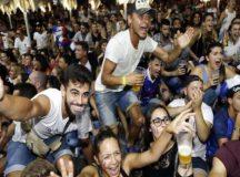 FIFA वर्ल्ड कप: फाइनल में पहुंचने के बाद जश्न में सराबोर फ्रांस