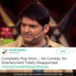 'फैमिली टाइम विद कपिल शर्मा' को फैन्स ने बताया बोरिंग, पढ़ें कपिल की वापसी पर Twitter Reaction