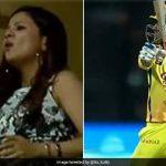 IPL 2018: MS Dhoni ने जड़ा छक्का तो दूर से साक्षी ने किया ये इशारा, फिर हुआ ये चमत्कार