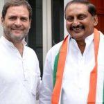 आंध्र प्रदेश के पूर्व CM किरण रेड्डी की कांग्रेस में हुई घर वापसी