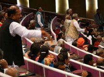 कॉमनवेल्थ समिट में 52 देशों के रिप्रेजेंटेटिव के सामने राजद विधायकों का हंगामा, भ्रष्टाचार के जिक्र से थे नाराज