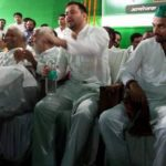 लालू की गैरमौजूदगी में RJD ने मनाया स्थापना दिवस, साथ दिखे तेजस्वी-तेजप्रताप