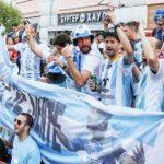 अर्जेंटीना के फैंस ने खोया आपा, क्रोएशियाई समर्थकों पर बरसाए लात-घूंसे