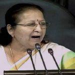 सुमित्रा महाजन ने महिलाओं से कहा: सबला बनकर लिखो एक नयी कहानी