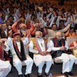 BJP की बैठक में गूंजे नारे- 'जीत हमारी जारी है, कर्नाटक की बारी है'