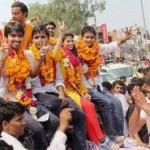 एबीवीपी ने लगातार दूसरे वर्ष सभी चारों सीटों पर बाजी मारी