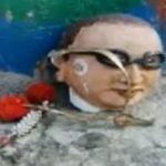मेरठ में लगाई गई अंबेडकर की नई मूर्ति, रात में शरारती तत्वों ने तोड़ दी थी