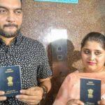 हिन्दू-मुस्लिम कपल के पासपोर्ट में नया मोड़, तन्वी के नाम-पते की हो सकती है जांच