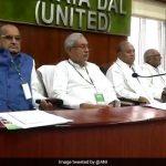 दिल्ली: JDU की बैठक में नीतीश पहुंचे, पार्टी प्रवक्ता ने कहा- NDA के साथ हैं और रहेंगे
