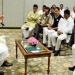 PM की पाठशालाः मोदी ने पूछा-किन किन मंत्रियों ने गांवों में गुजारी रात