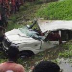 बिहार: अररिया में तालाब में गिरी कार, 6 बच्चों की मौत