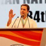 कांग्रेस अधिवेशन में राहुल का वार, बोले- देश में गुस्सा फैलाया जा रहा है